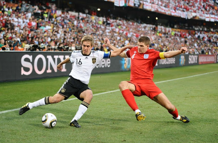2010: Germany - England 4-1