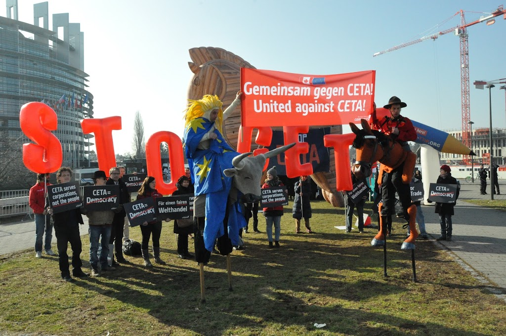 CETA-Demonstration vor der Abstimmung_1