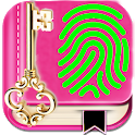 My Personal Diary with Fingerprint icon