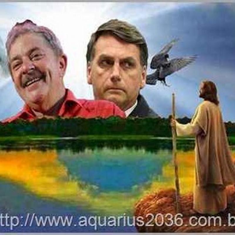 A melhor opção para futuro espiritual do Brasil - Lula ou Bolsonaro em 2018 ?