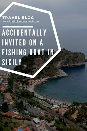 Invited on a fishing boat in Italy travel blog for women