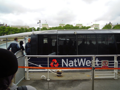 Transportation options in London include the ferry!