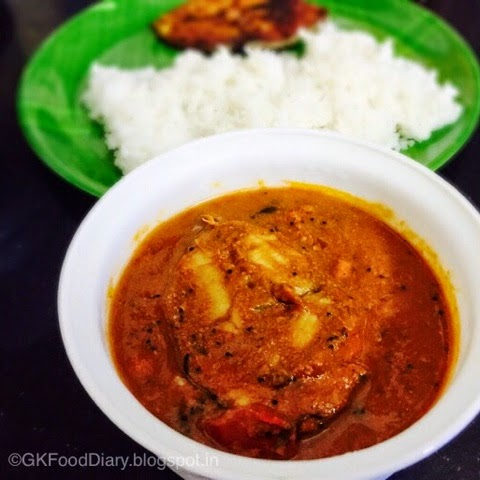 South Indian Fish Curry Recipe (Vanjaram Meen Kuzhambu)