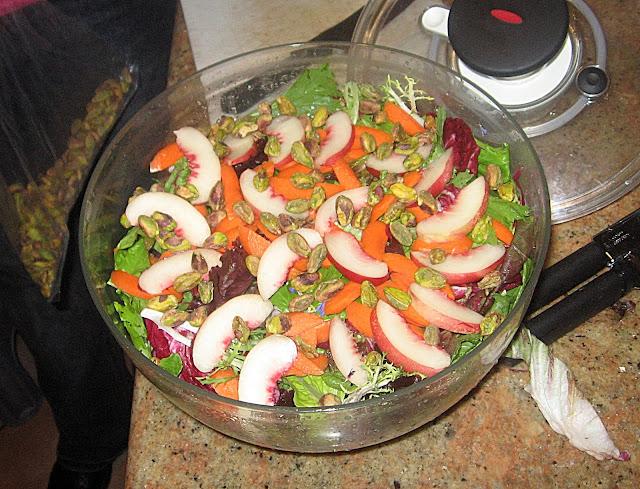 salad finished