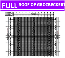 Hồ sơ Kết cấu Mái Groz Beckert