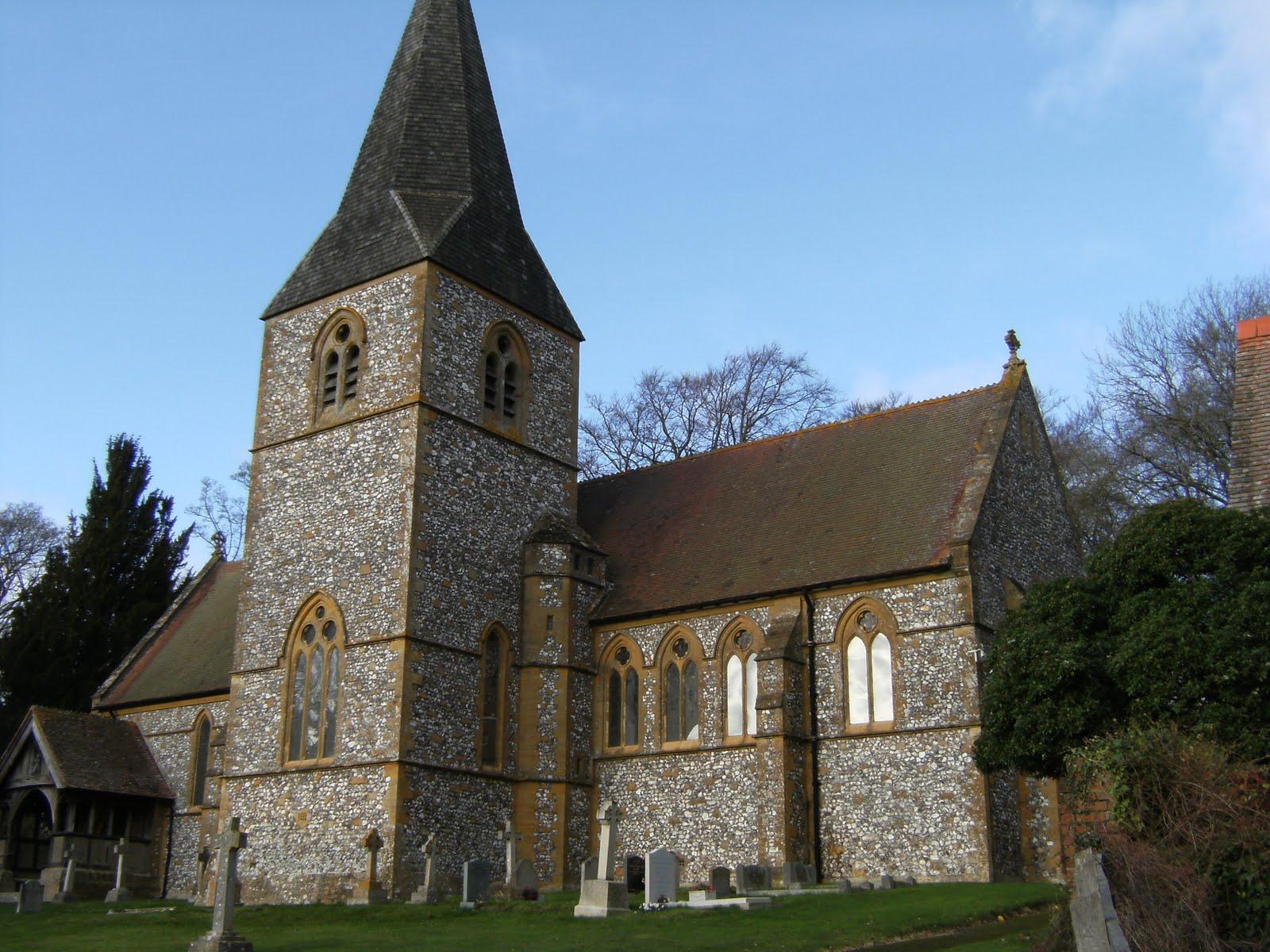 DSCF2706 St Mary's Church, Laverstoke