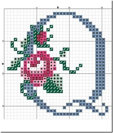 abc punto cruz letras con rosas  (16)