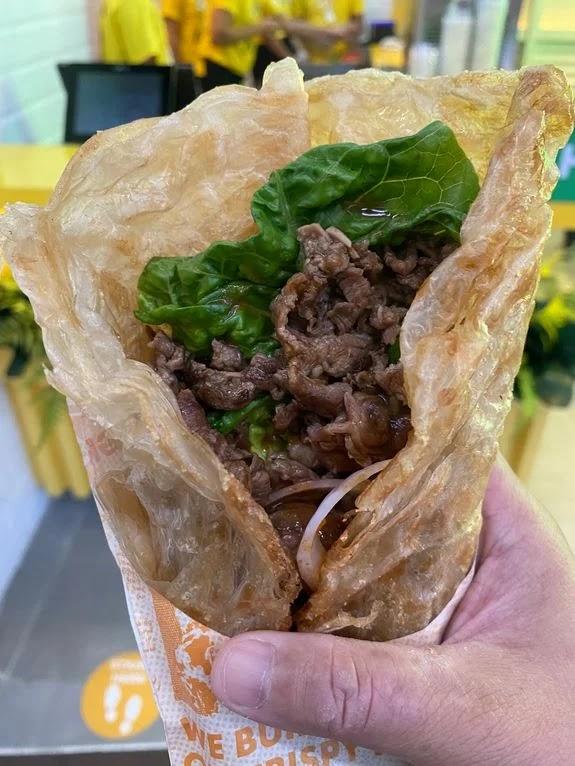 Liang Crispy Roll Angus Beef Steak