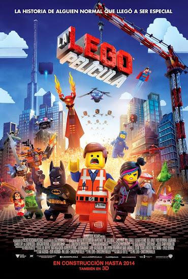 Cartel Lego: La película