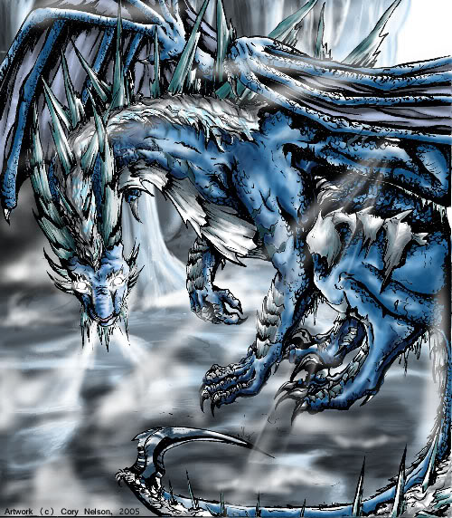 Ice Dragon Snake, Dragons