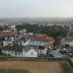 Château d'Ecouen : vue vers le village