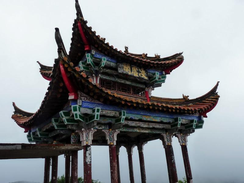 CHINE.YUNNAN.KUNMING , temple Lac Dian Chi - P1270762.JPG