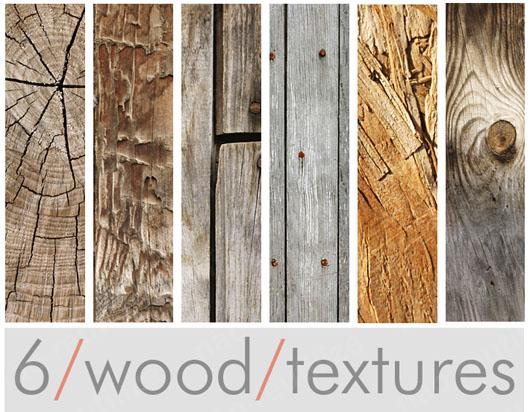 pacote com seis texturas madeira download