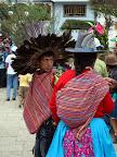 Tribal Dancer in Plaza de Armas (Chavin, Peru)