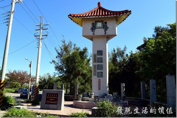 台南安平-漁光島。秋茂園遊樂區的舊址,旁邊就是海巡署。