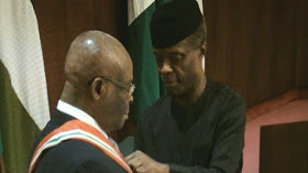 Osibanjo Swears In Onnoghen As The New Chief Justice Of Nigeria (Photos)
