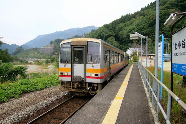 大糸線 北小谷駅