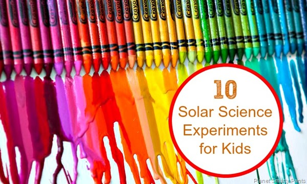Solar Energy Experiments for Kids