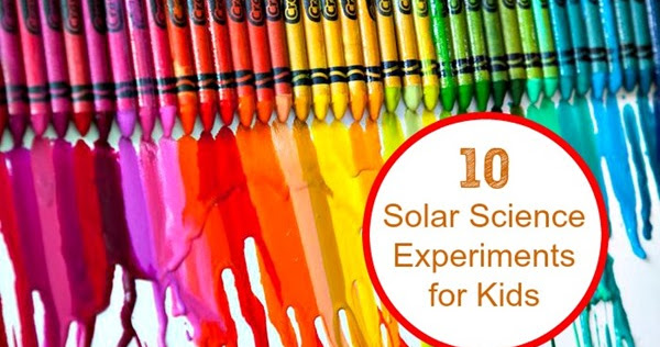 10 Fun Solar Experiments For Kids Planet Smarty Pants