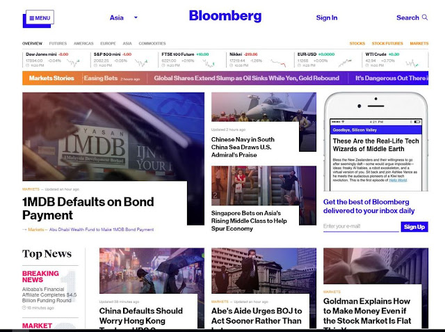 Top Business And Finance News Websites 1