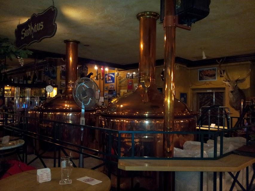 Blick ins Restaurant Dampfbierbrauerei