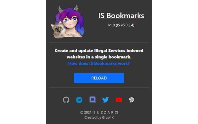 Illegal Services Bookmarks