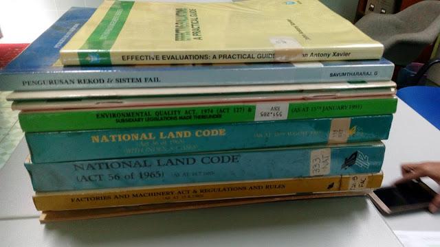 Melaksanakan Inter Library Loan di Pusat Penyelidikan Mineral