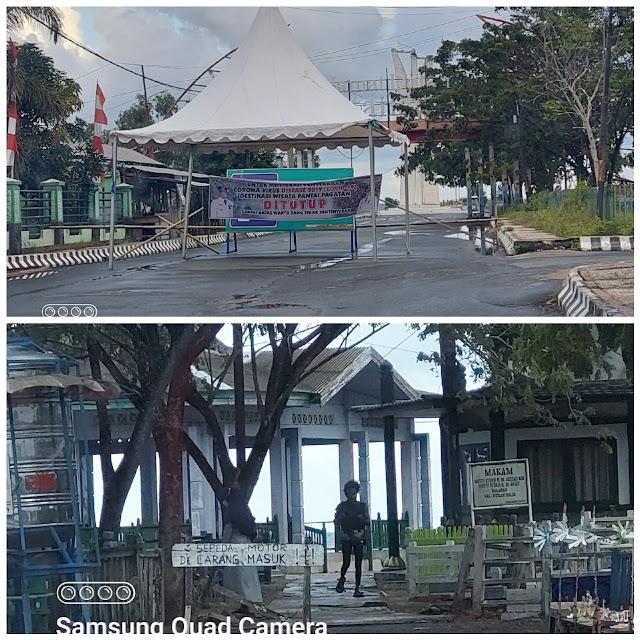 Jelang Lebaran Objek Wisata Pantai Pagatan Ditutup