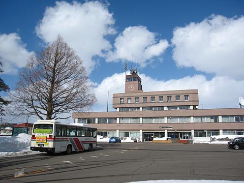北海道中央バス 滝新線 新十津川役場前