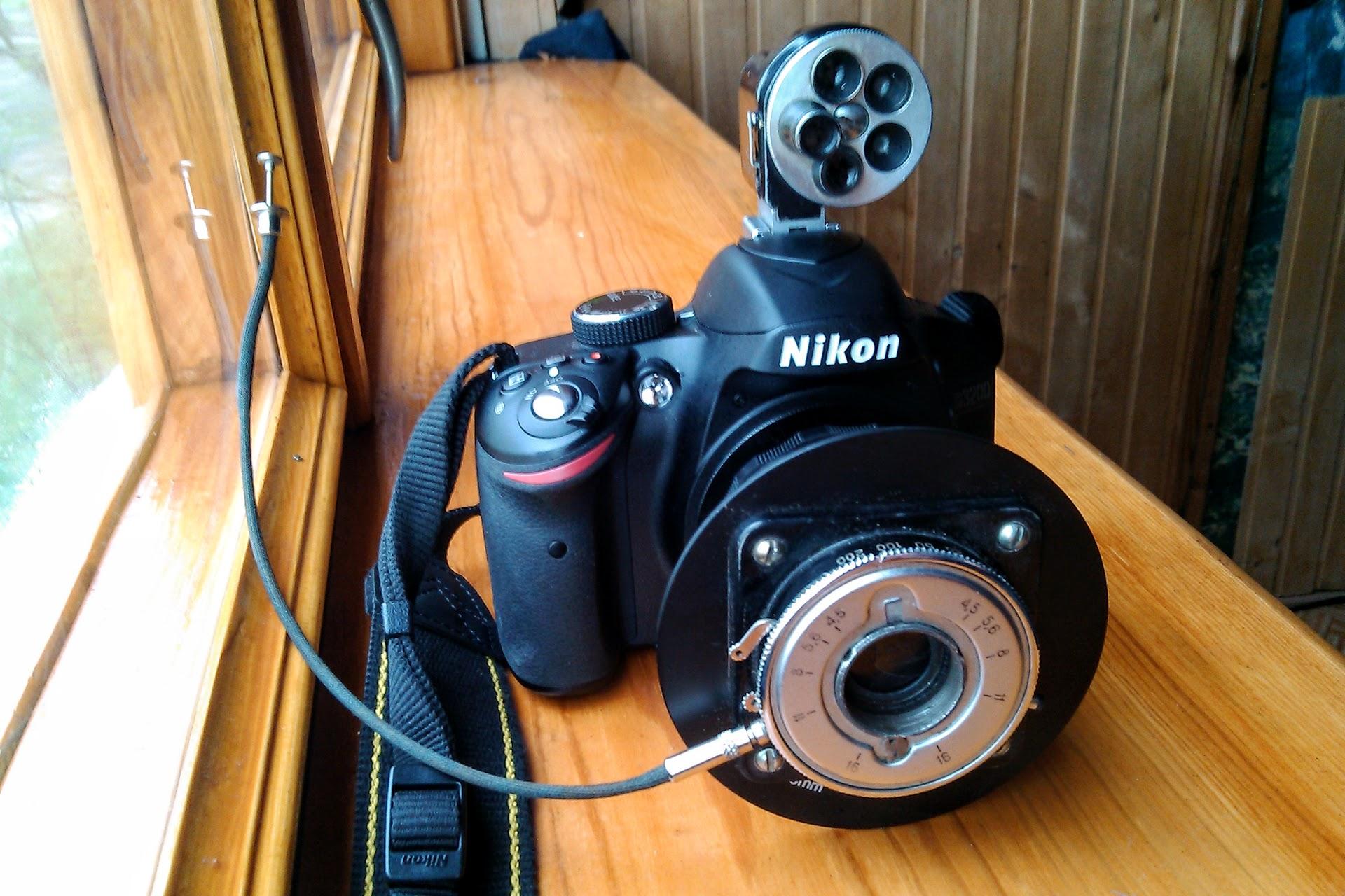 Nikon d3200 Мультикспозиція