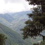 La Vallée de l'Intag vue depuis la route de Cuicocha à Apuela, 2500 m (Imbabura), 17 novembre 2013. Photo : J.-M. Gayman