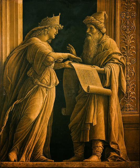Andrea Mantegna - A Sibyl and a Prophet - Google Art Project
