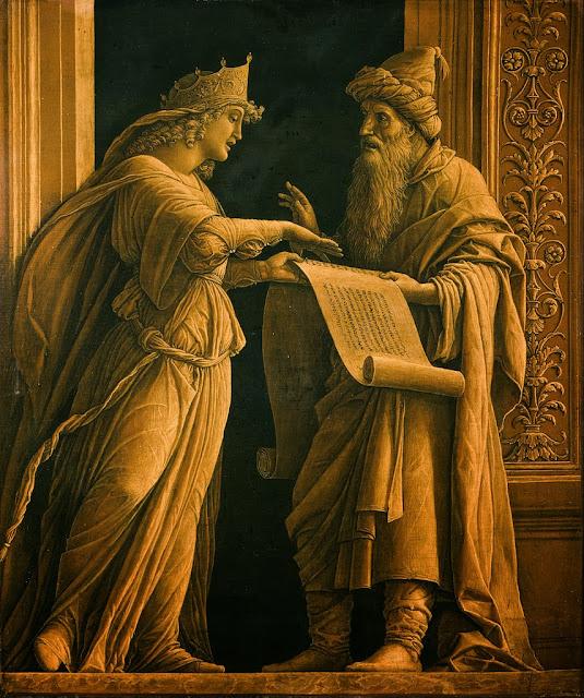 Andrea Mantegna - A Sibyl and a Prophet - Google Art Project