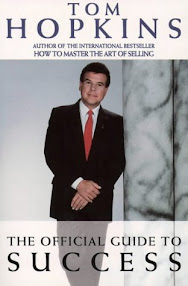 Cover of Tom Hopkins's Book Official Guide To Success Summary