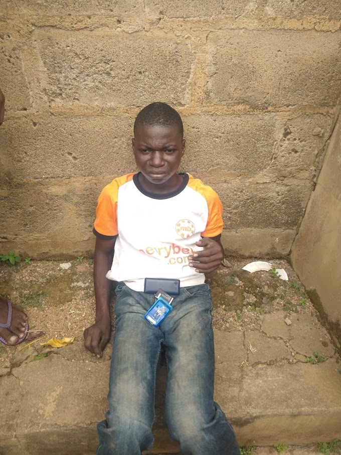 """#EndaRape: Underage boy caught """"raping a 6 year old girl"""" in an uncompleted building"""