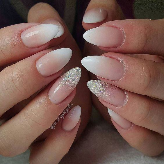 gorgeous wedding nail art ideas 2017