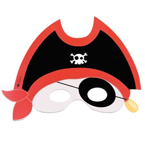 careta de pirata para imprimir