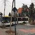 Verkehrsbehinderung durch Linienbus