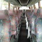 Het interieur van de VanHool van Bovo Tours bus 307