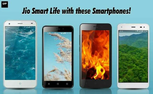 Available On Flipkart - Buy LYF Smartphones & Enjoy Free Unlimited 4G Data + Calls For 3 Months