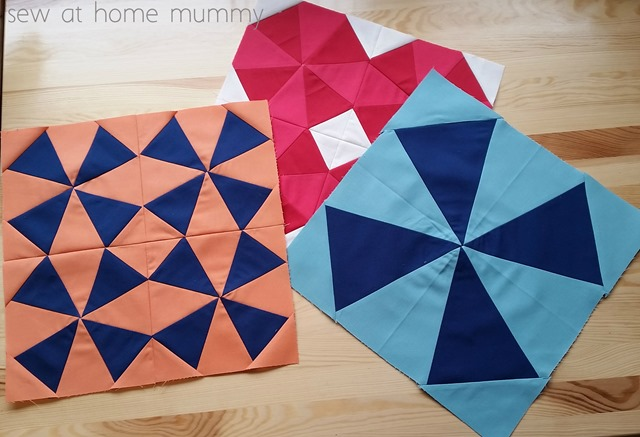 Bella Skill Builder Quilt Along February Block Sew at Home Mummy