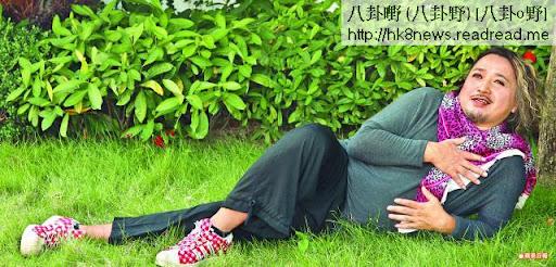 古明華在電視圈捱了多年,近日終憑娘娘腔的蘇基一角而人氣急升。攝影:陳慧安
