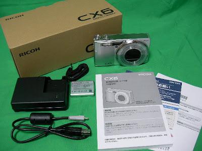RICOH CX6 同梱品