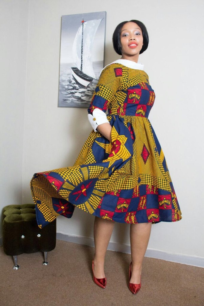 17 Best Images About Its Fashion Metro On Pinterest: Top Kitenge Skirts, Dresses & Outfits# 2017