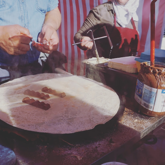 Berliinin street food, Kinder-crepes