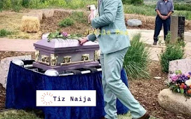 Man Buries Pet in an Expensive Coffin says the Pet Dog is the Love of his Life