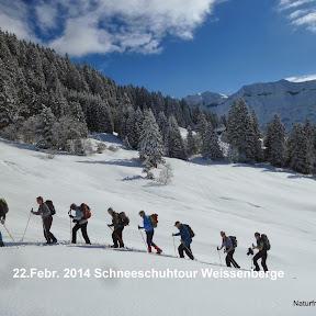 Schneeschuhtour Weissenberge