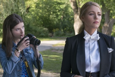 "Anna Kendrick as ""Stephanie"" and Blake Lively as ""Emily"" in A SIMPLE FAVOR. Photo by Peter Iovino."