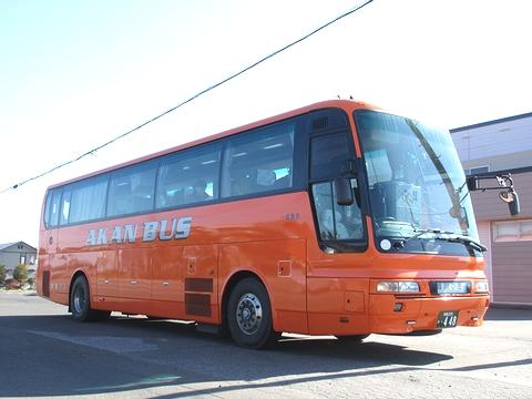 阿寒バス「サンライズ旭川釧路号」 ・448 北見相内にて その1