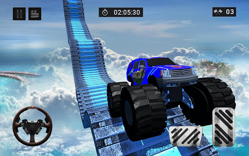 3D Grand Monster Truck Stunts Driver 1.0 APK Android